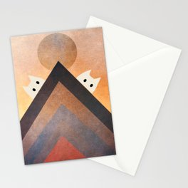 moaning cats 375 Stationery Cards