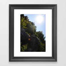 Arch Rock Framed Art Print