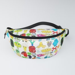 Rainbow Microbes Fanny Pack