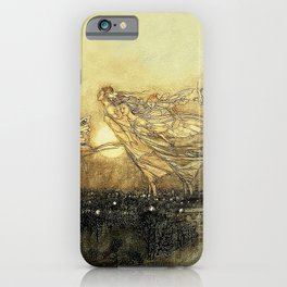 """Fairies in Kensington Gardens"" by Arthur Rackham iPhone Case"