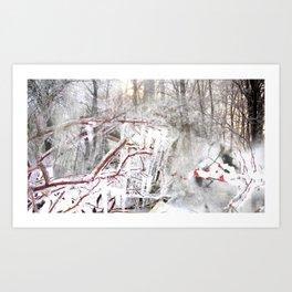 Winter Waltz Art Print