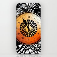 persona 4 iPhone & iPod Skins featuring Persona Q Clock by Laharl