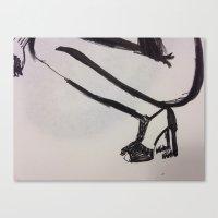 heels Canvas Prints featuring heels by R. Bender