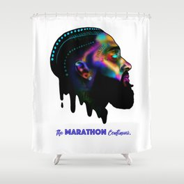 Nipsey The Great Shower Curtain