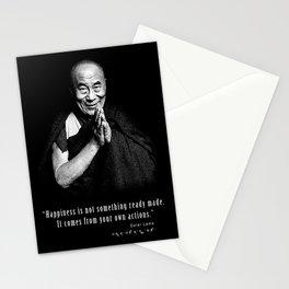 Dalai Lama-Tibetan- Buddhism-Nobel Peace-religion Stationery Cards