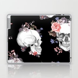 Day Of The Dead Floral Skulls Laptop & iPad Skin