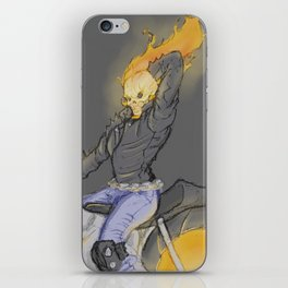Pin-Up Ghost Rider iPhone Skin