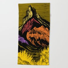 The Acid Peak of Tempests Beach Towel