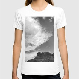 Incoming Storm Black and White T-shirt