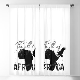 Call of Africa Blackout Curtain