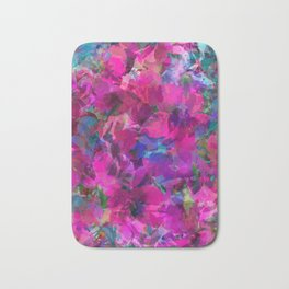 Pink Poppy Jungle Bath Mat
