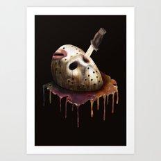 Friday The 13th Art Print