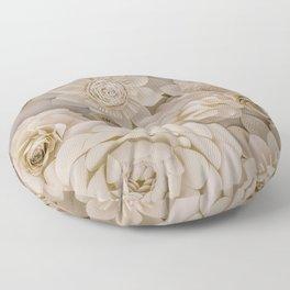 Paper Bouquet Floor Pillow