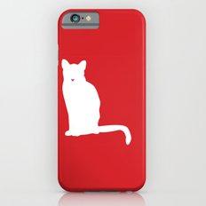Cat Silhouettes: American Shorthair Slim Case iPhone 6s