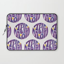 The Groovy Moon - Purple Palette Laptop Sleeve