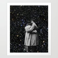 Space Couple Art Print