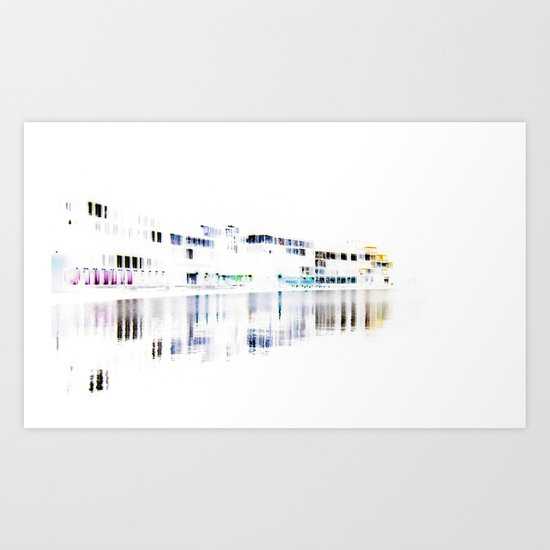 white harbor I. Art Print