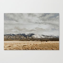 Great Sand Dunes National Park - Mountains II Canvas Print