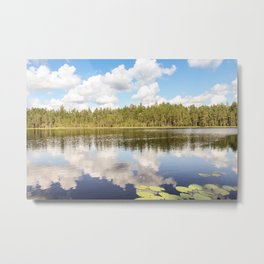 Lake of the Woods. Metal Print