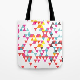 Tri Colour Series 7 by Eamon Donnelly Tote Bag