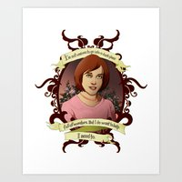 buffy the vampire slayer Art Prints featuring Willow - Buffy the Vampire Slayer by muin+staers