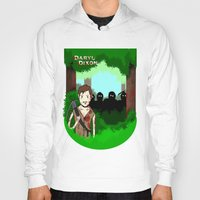 daryl Hoodies featuring Daryl Dixon by Dan Solo Galleries