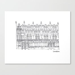 London Sloane Square Canvas Print