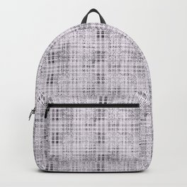 Classical gray cell. Backpack