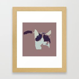 Hello, Cat #2 Framed Art Print