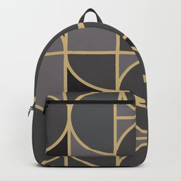 Art Deco Graphic No. 34 Backpack