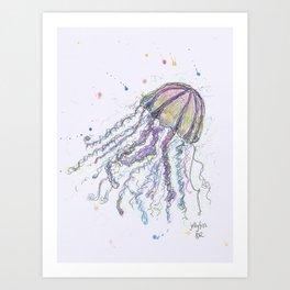 Jellyfish Art Print