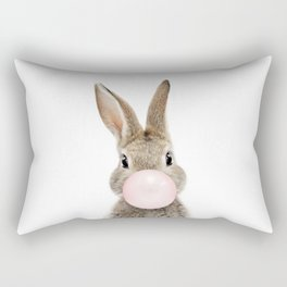 Bubble Gum Bunny Rectangular Pillow
