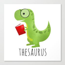 Thesaurus Canvas Print