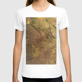 golden wrinkles T-shirt
