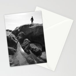 rocky waters Stationery Cards