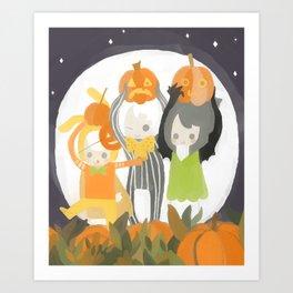 It's the Great Pumpkin Cake Art Print