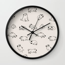 More Sleep Wall Clock