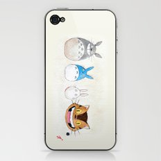 Make the Unlikeliest of Friends, Wherever You Go iPhone & iPod Skin