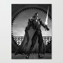 Steampunk Space Opera: Dark Lord Canvas Print