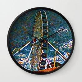 Festivity Wheel Wall Clock