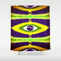 brazil Shower Curtains featuring BRAZIL CUP by Chrisb Marquez