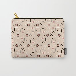 Memphis Tribes - Warm Beige Carry-All Pouch