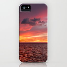 Holbox Sunset iPhone Case