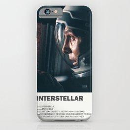 "Interstellar "" do not go gentle into that good night "" sci-fi movie poster iPhone Case"