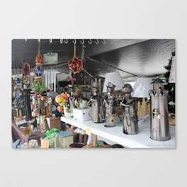 Flea Market Canvas Print