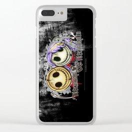 Totenknopf & Totenknöpfen Clear iPhone Case