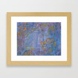 You Will Become Buddhas Framed Art Print