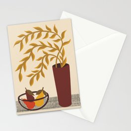 Modern Still Life with Pears Stationery Cards