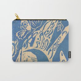 Show me how to live in blue Carry-All Pouch