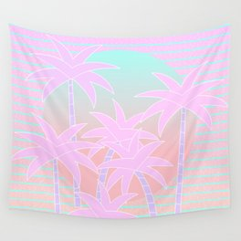 Hello Miami Sunrise Wall Tapestry